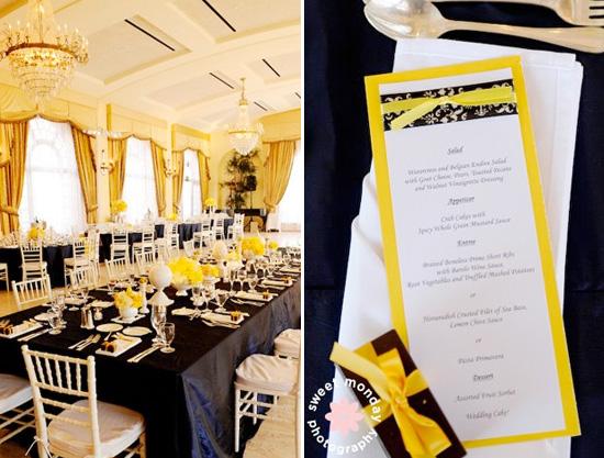 Dark Blue And Yellow Wedding: Wedding Ideas: Navy And Yellow Wedding Theme