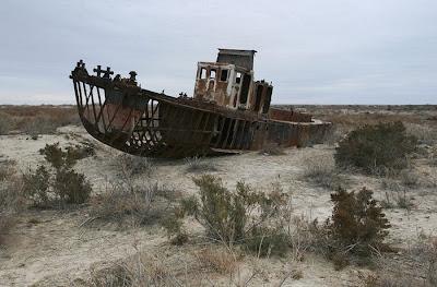 aral sea 16 Aral Sea, Laut Yang Mengering
