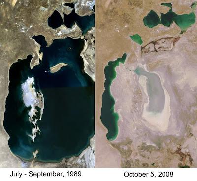 aral sea 18 Aral Sea, Laut Yang Mengering