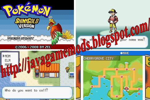 Pokemon Shiny Gold X Hack Gba Rom Download