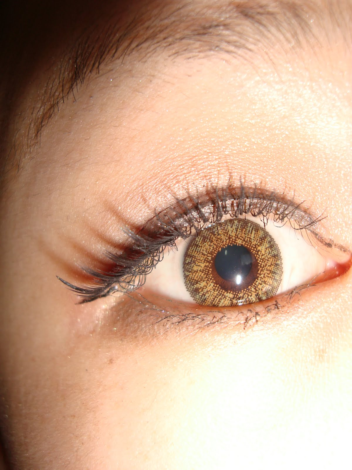 Hazel Eye Makeup And Eye Shadow For: LazybumtToT : Asian Eye Make Up Tutorial Also Suitable For
