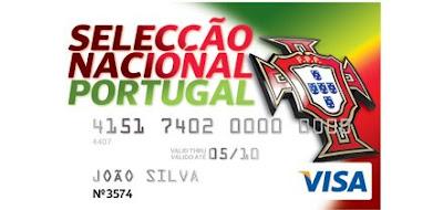 Cartão Seleção Nacional