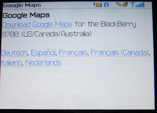 Blackberry Google Maps (GMM) – Step-by-Step – Free