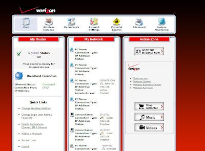 How to Configure Verizon FiOS Firewall (Actiontec MI424WR)   Some
