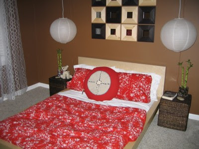 Ikea Bedroom On Modern Design Paper Lanterns