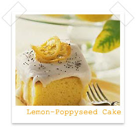 Food Gift Recipes Lemon Poppy Seed Cake Recipe