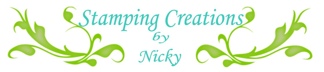 Stamping Creations by Nicky