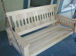 Classic Porch Swing--Cunningham Carpentry