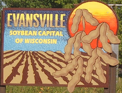 Evansville, Wisconsin-----Soybean Capital of Wisconsin