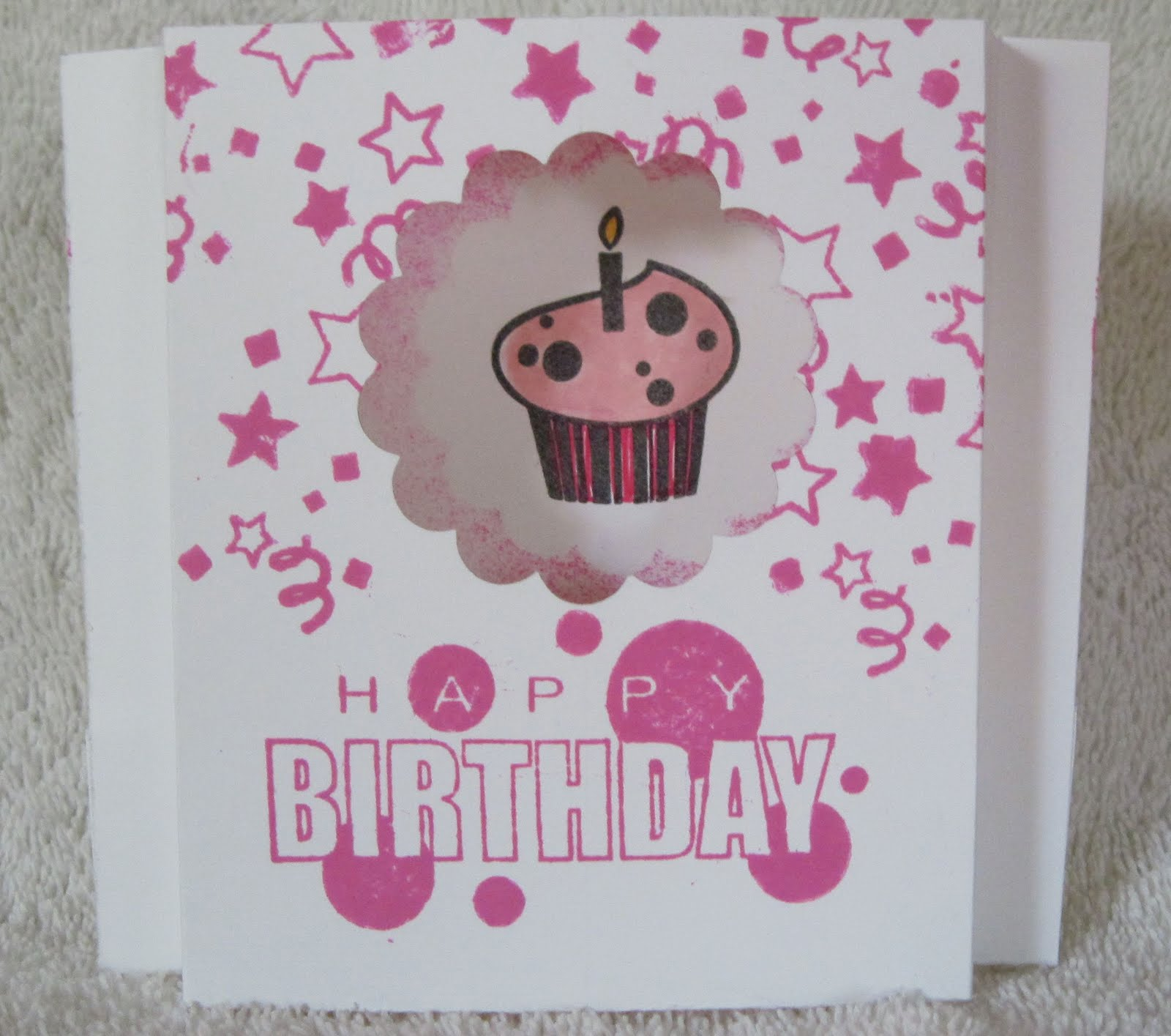 paper fanatic automaticpopup birthday card