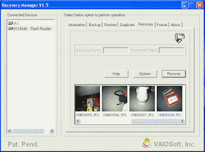 FREE PHOTO RECOVERY VAIOSOFT