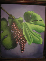 16x20 acrylic on canvas 'Grapes'