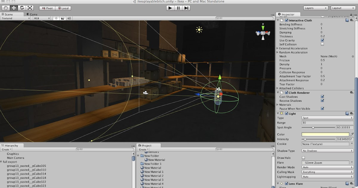 how to use the unity game engine