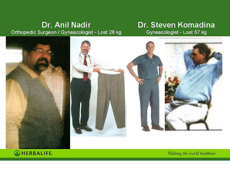 Physicians use Herbalife to improve their Shape