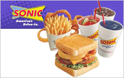 Lunch - Sonic America's Drive-In