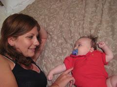Smitten by her auntie