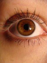 olhos de cristal?