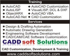 AutoCAD Customization, CAD Customization & AutoCAD Training