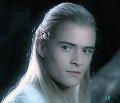 Orlando Bloom As Legolas Greenleaf Talking about T...