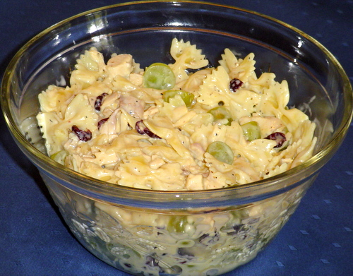 If you've never tried a fruity, nutty pasta salad, you might be surprised by the great flavor of this Bow Tie Pasta Salad recipe.
