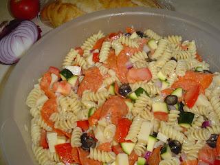 All-American Italian Pasta Salad