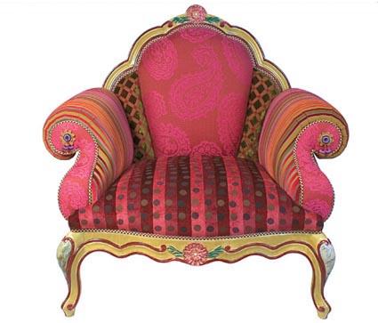 Free dekstop wallpaper: Royal Chair Pink