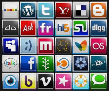 65 Social Bookmarking Icons