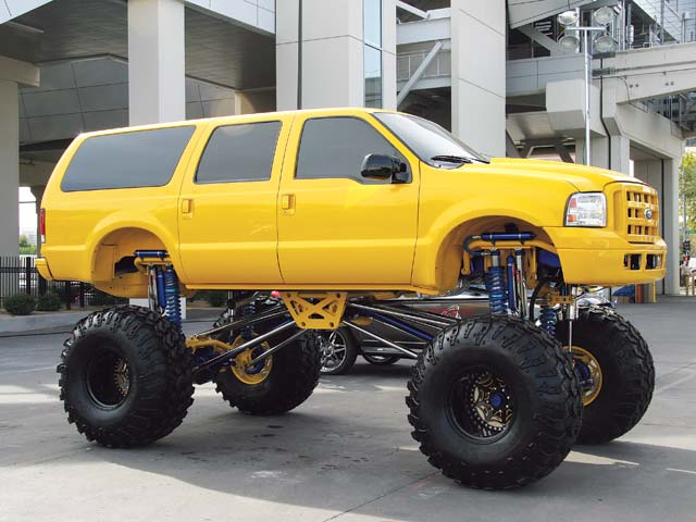 big old ford truck