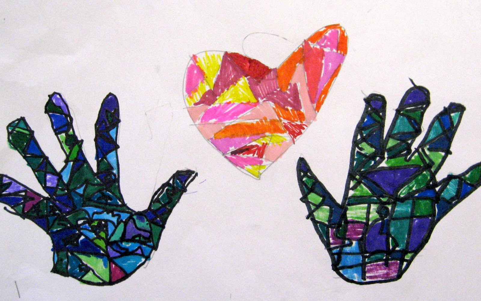 5 valentine u0027s day projects for kids u2013 art is basic an elementary
