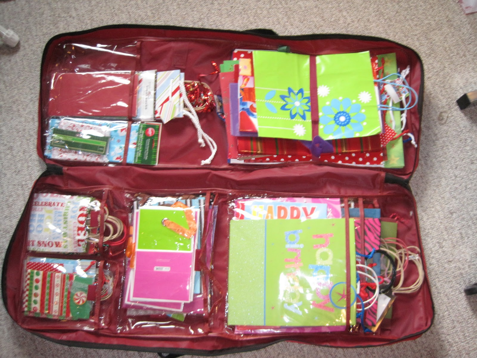 Crafts And Crap Gift Wrapping Organization Part 3 Final