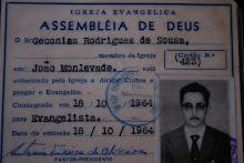 PRIMEIRA CONSAGRAÇÃO PARA O MINISTÉRIO DE MEU PAI.