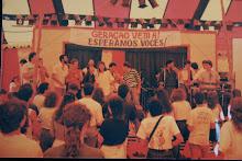 BANDA AZUL NO SOM DO CÉU EM 1988