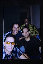 """BANDA AZUL SE REENCONTRANDO EM 1999 NO EVENTO """"MIXTO CRENTE"""""""