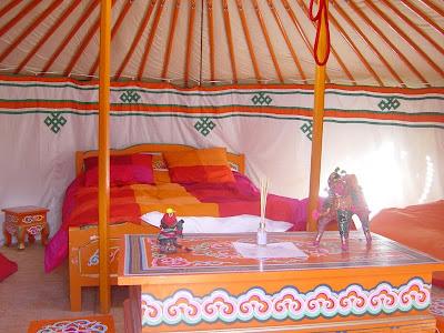 nuit tente medievale