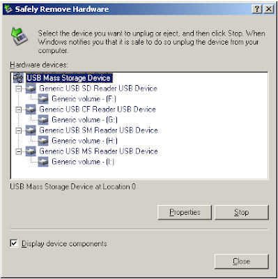 The PC Tech Blog: Missing 'Safely Remove Hardware' Icon