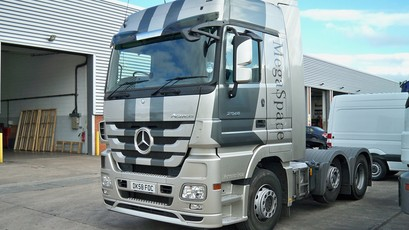 videos de camiones mercedes benz actros 1