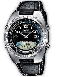 Como cambiar la hora en reloj Casio análogo y digital