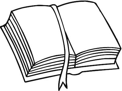 Livro Aberto Para Colorir Com Separador Desenhos Para Imprimir