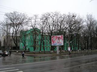 больница Водников, дождливое воскресенье