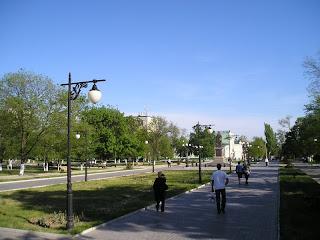Памятник Потемкину в парке, 15 мая 2007