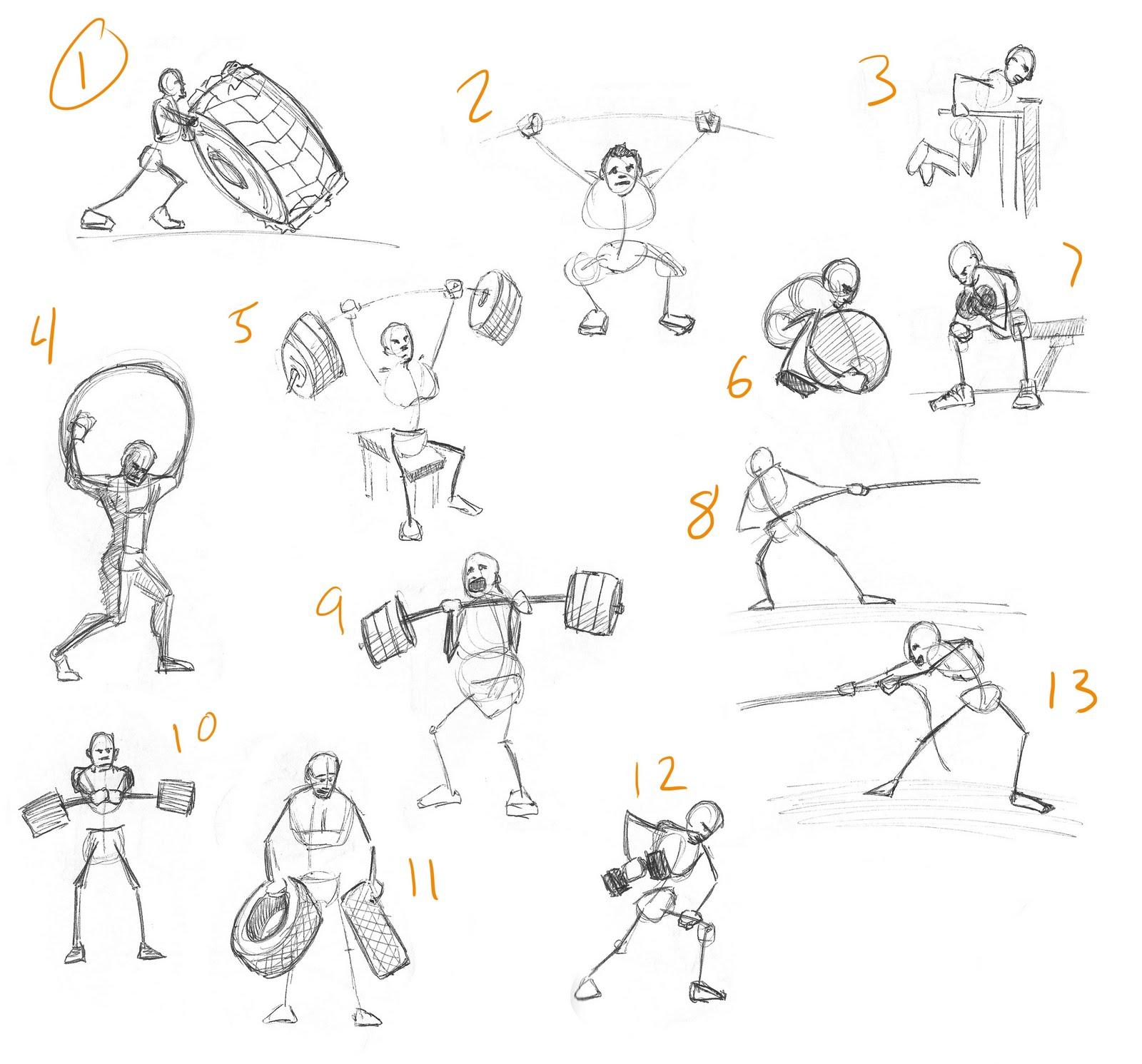 Physical Strength: Zach Bova Character Animator: November 2010