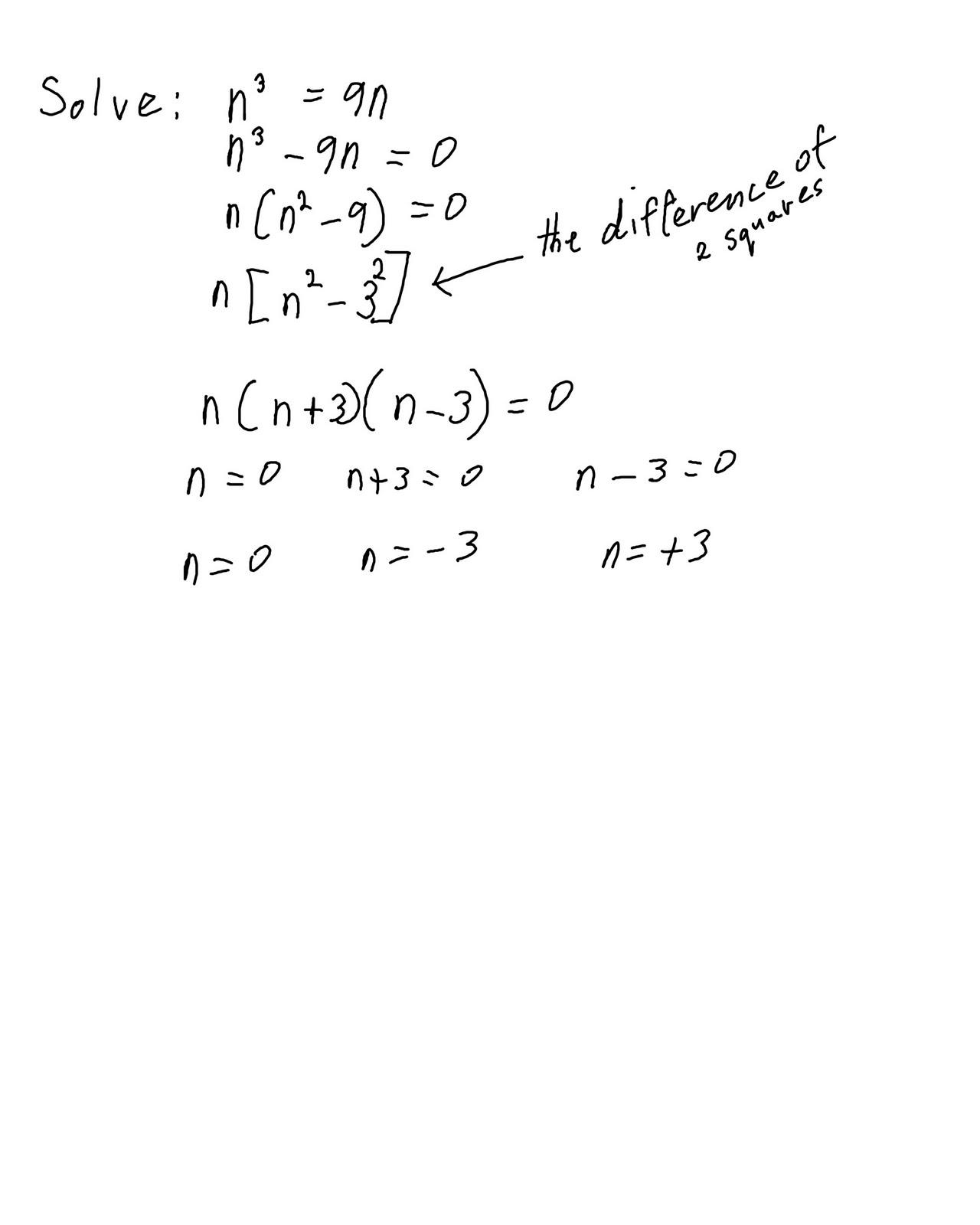 Algebra 2 Quadratic Equations