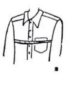 Cara Mengambil Ukuran Pola Pakaian Pria Dewasa  Cara Mengambil Ukuran Pola Pakaian Pria Dewasa