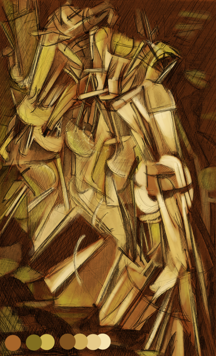 Nude Descending On A Staircase 29
