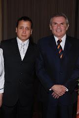 Lucho Jiménez y el Alcalde Castañeda