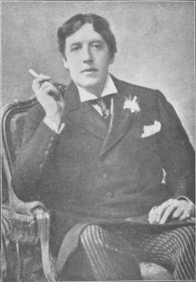 Oscar Wilde, with pocket square