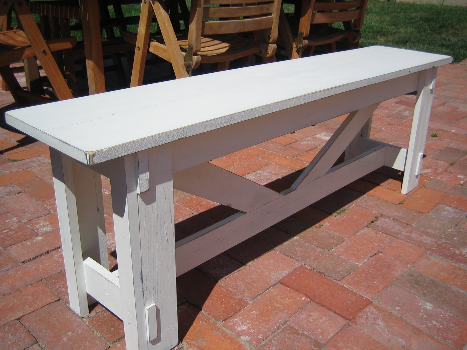 Farmhouse Table Company Shabby Chic Rustic Bench Farmhouse Table Company