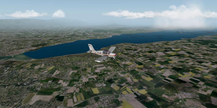 Urban's X-Plane experience: Swizterland VFR scenery for X-Plane
