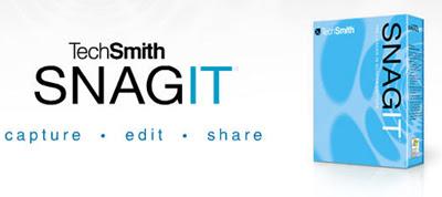 Snagit 7.2.5 ahora totalmente gratuito