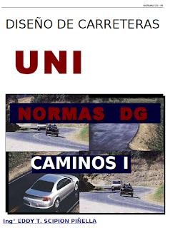 Manual de diseño de carreteras UNI